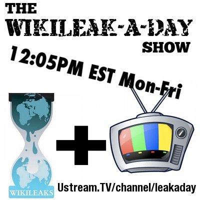 wikileak-a-day-show