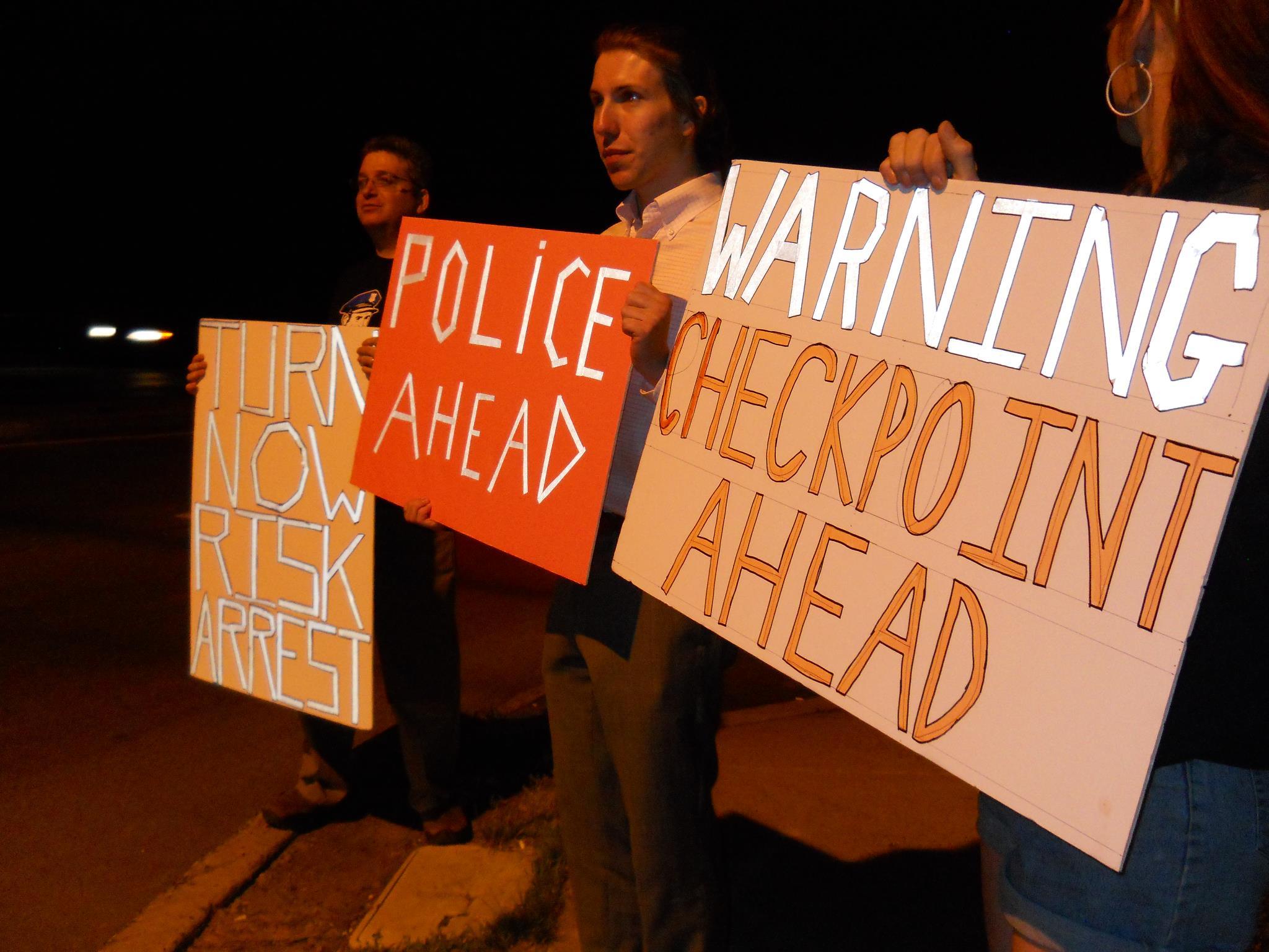 Philadelphia libertarian activists nullify suspicionless checkpoint