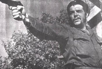 Che Guevara with a Gun