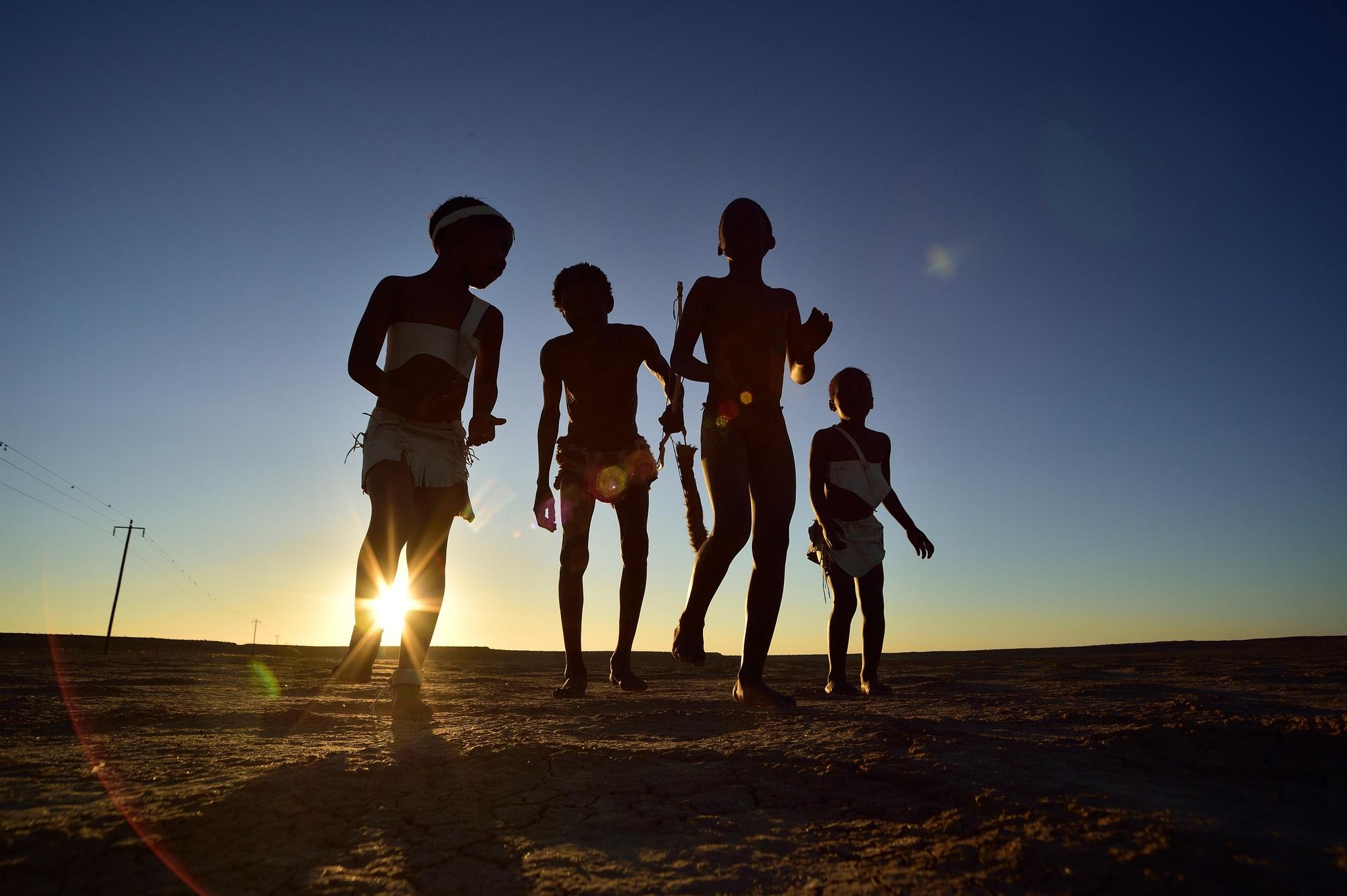 Khoisan Children